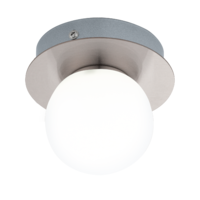 EGLO Mosiano Satin Nickel Single Spot Wall Light LED 1x3.3w | LV1902.0032