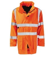Vesuvius Flame Retardant Anti Static Hi-Visibility Jacket Orange