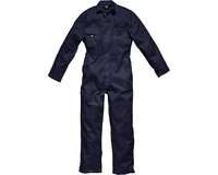 DICKIES Redhawk Boiler Suit Stud Front Size: Medium