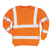 Portwest Hi-Visibility Sweatshirt Hi-Vis Orange