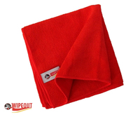 Red Microfiber Cloths