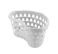 Hip Laundry Basket 60Cm Dia White
