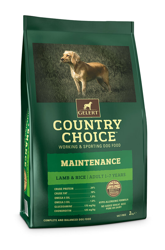 Gelert Country Choice Maintenance Lamb Adult Dog Food 2kg