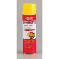 Stick2 Heavy Duty Spray Contact Adhesive, 500ml Aerosol