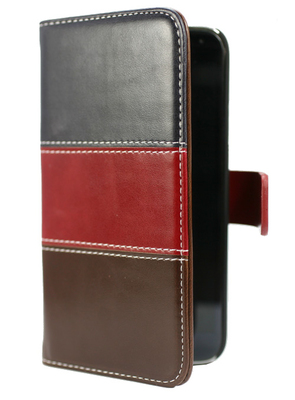 FOLIO1030 Galaxy S5 Folio Blue Red Brown