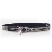 Rogz Nightcat Cat Collar - Black x 1