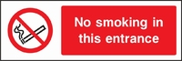 Prohibition and Smoking Sign PROH0013-1059