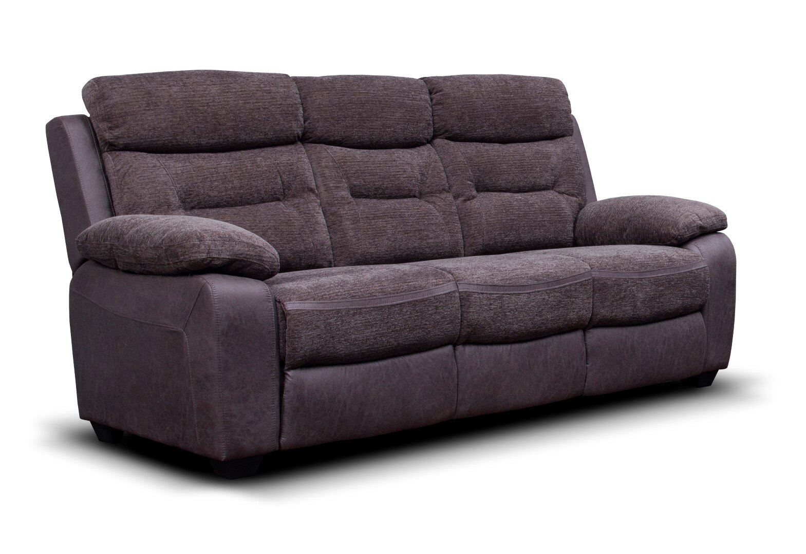 Melody Fabric Sofa - Dark Grey / Charcoal