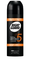 Right Guard Total Defence 5 Men Sport Aerosol 150ml