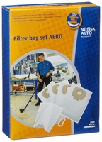 Nilfisk Alto Filter Bag Set. 4 Fleece Bags + 1 Filter