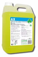 AX Cleaner & Sanitiser 5Ltr