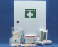 Metal First Aid Cabinet Wall Mountable: (26-50 Persons)