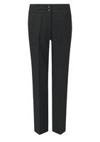 Black Carla Ladies Slim Leg Trouser