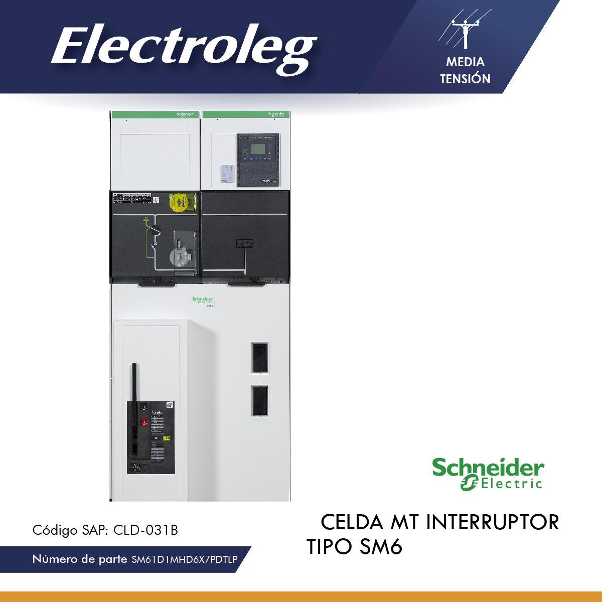 CELDA INTERRUPTOR DM1-A 24KV C/SEPAM S20