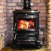 Olymberyl Aidan 18 KW Boiler Stove (Black Enamel)