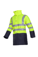 Sioen Stormflash Hi-vis winter rain jacket