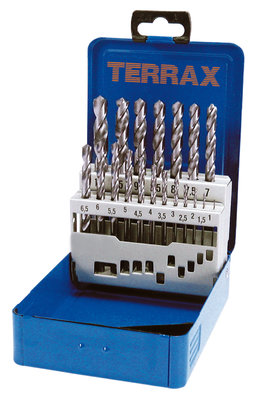 Terrax HSS Ground 1mm to 10mm x 19Pc.