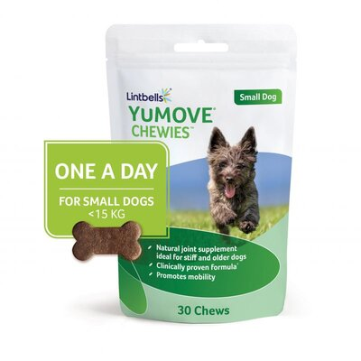 Lintbells YuMOVE Chewies for Small Dogs 30-Chew x 1