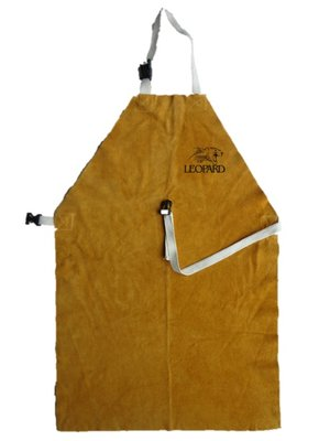 Premium Gold Welders Apron with Buckle and Strap