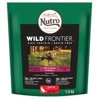 Nutro Wild Frontier Cat - Turkey & Chicken 1.5kg