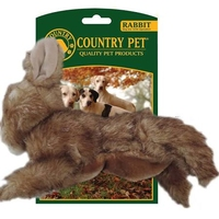 Country Pet Dog Toy - Rabbit Small x 1