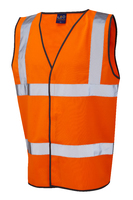 B-Seen Orange Hi-Visibility Safety Vest