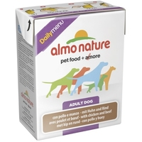 Almo Nature Daily Menu Adult Dog - with Chicken & Beef 375g x 12