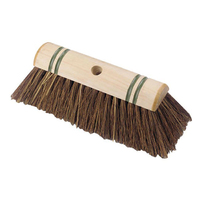"10.5"" Bassine Scavenger Broom Head threaded"