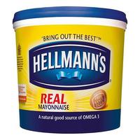 Sauce Hellmanns Real Mayonnaise 1x10 ltr