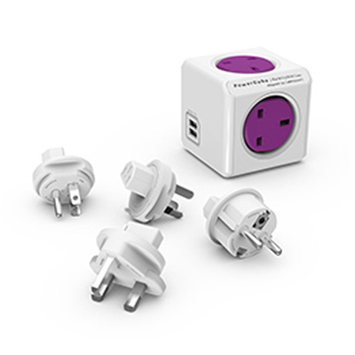 PowerCube Multi Travel Adaptor / USB Charger
