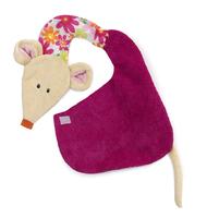 Bib Valentine Mouse (P/Sng Units of 6)
