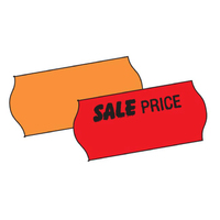 CT4 Price Label Orange 15k