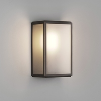 HOMEFIELD FROSTED BRONZE WALL LIGHT IP44 | LV1702.0149