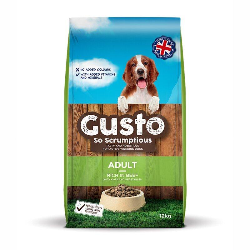Gusto Adult Dog Food 12kg