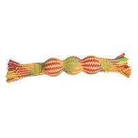 Good Boy Threads Squeaky Ball Tug x 3