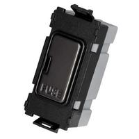 Flatplate Grid Black Nickel Module black|LV0701.1090