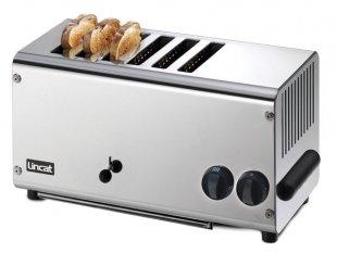 Lincat LT6X Toaster Bread Stainless Steel 6 Slot