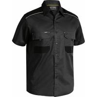 Bisley Flex & Move Cotton Mechanical Stretch Short Sleeve Shirt