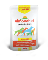 Almo Nature Classic Dog Pouch Jelly Chicken & Pumpkin 70g x 24
