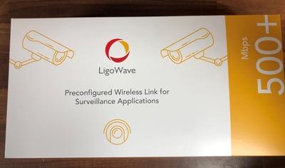 LigoWave DLB-5-20ac PTP Kit - Preconfigured