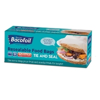Baco 50 Small Food and Freezer Bags 85B30