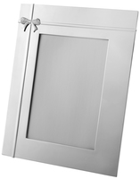 Crystal Bow Silver Plated Picture Frame | TC1