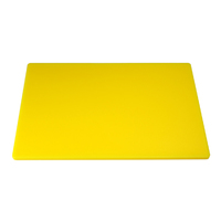 "Low Density Chopping Board 18""Lx12""Wx.5""D Yellow"