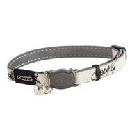 Rogz Glowcat Cat Collar - Black x 1