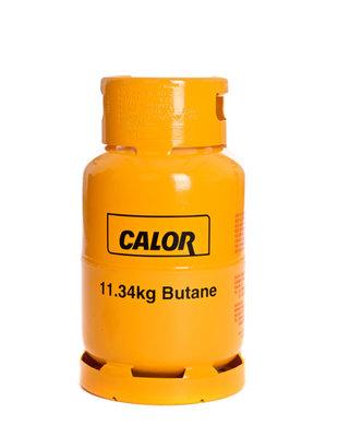 11.34kg Butane Calor Gas Cylinder