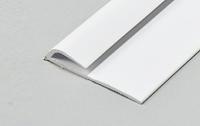 White PVC J Trim