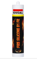 FIRE SILICONE B1 FR WHITE 310ML
