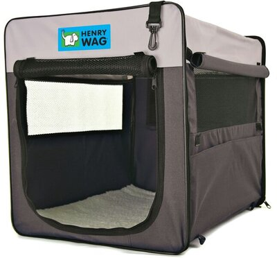 Henry Wag Canvas Pet Crate - Jumbo 88 x 57 x 63cm x 1