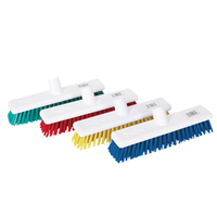 "12"" Washable Broom, Stiff Bristles"