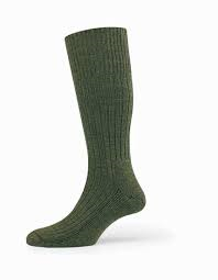 HJ3000 Commando Sock Green
